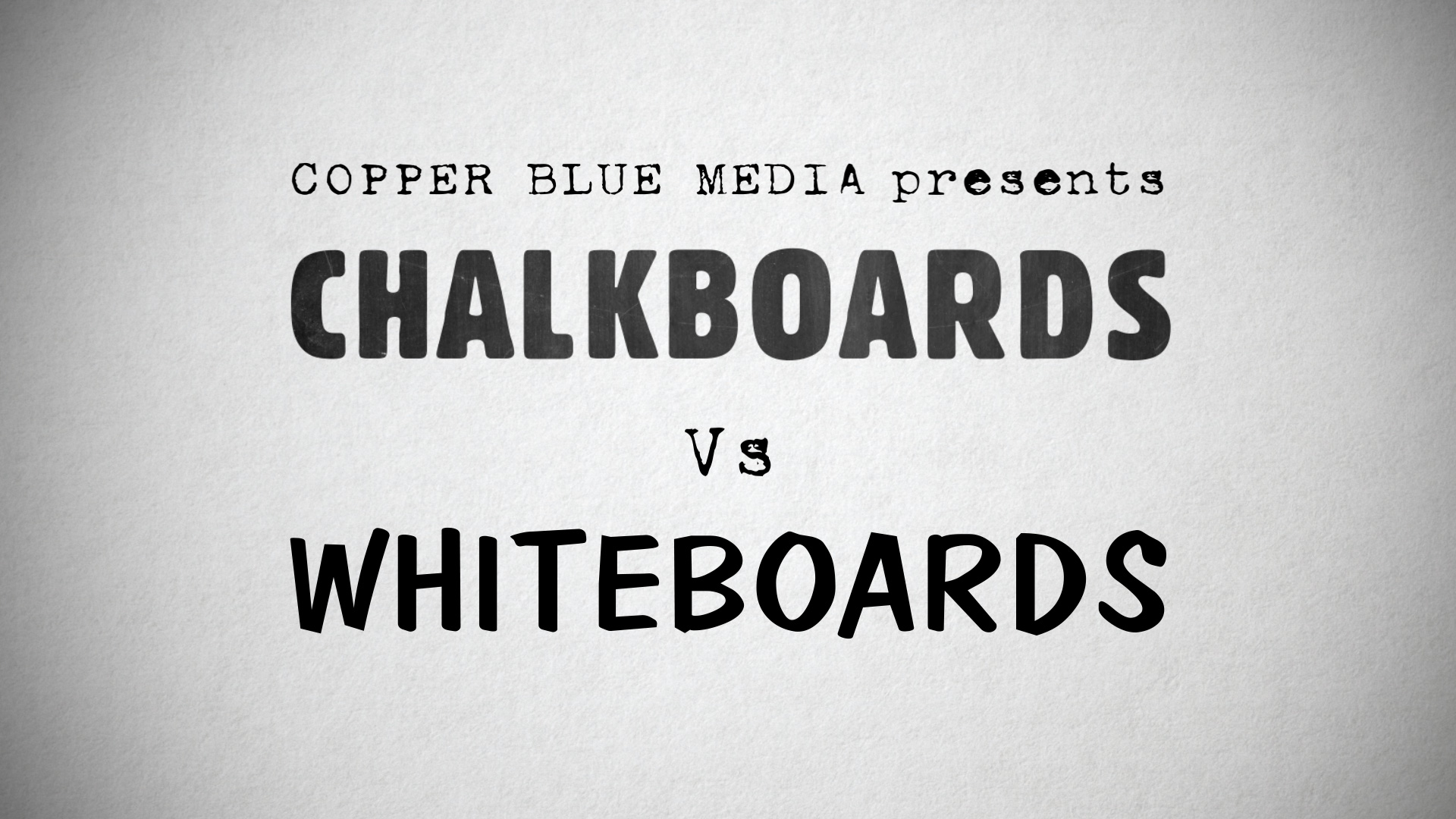 Chalkboard Vs Whiteboard