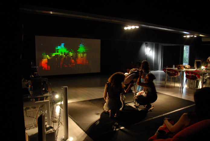 Rainbow Resonance presented to special children, Ms Viewpoint Ltd, Nicosia, July 13th 2010