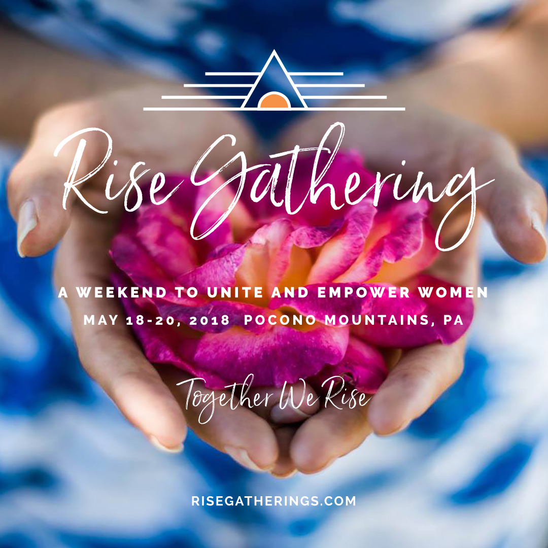 Social Media Poster for Rise Gatherings Event