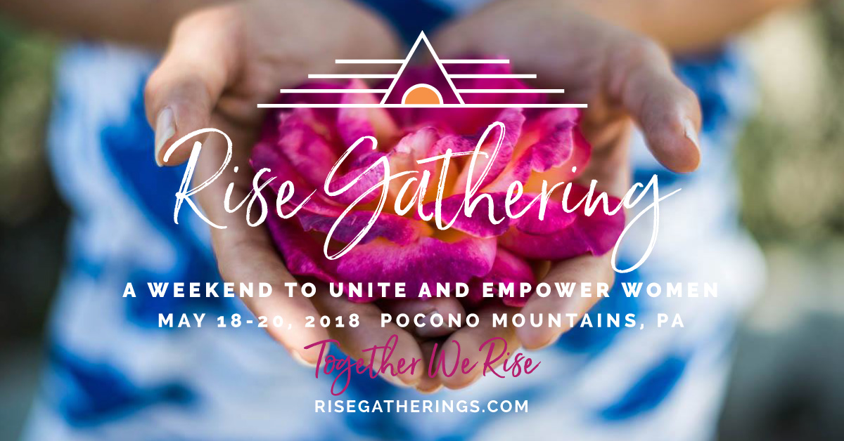 Social Media Banner for Rise Gatherings Event